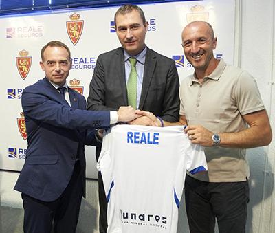 #REALE, aseguradora oficial del Real #Zaragoza