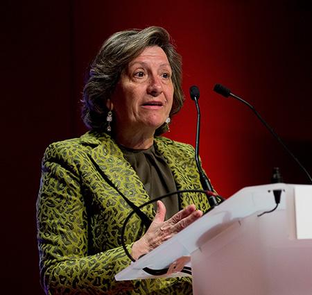 """Pilar González de Frutos (UNESPA): """"Solvencia II fuerza a gestionar una monumental estrategia de cambio"""""""