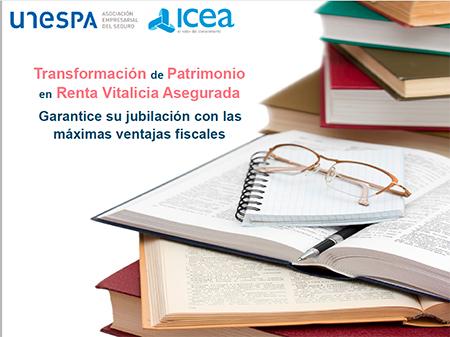 UNESPA lanza un folleto para explicar los beneficios fiscales de la transformación de patrimonio en renta vitalicia