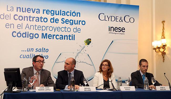 Un Código Mercantil respetuoso con la Ley de Contrato de Seguro, pero adaptado a las necesidades del mercado