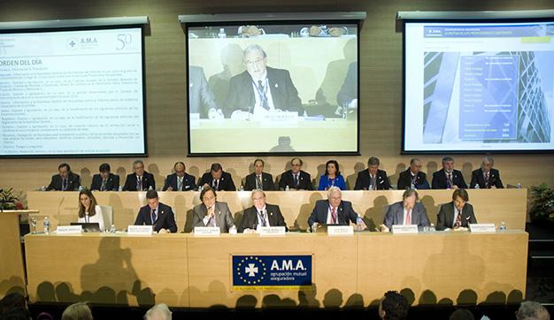 A.M.A. SEGUROS aumenta un 10,6% su beneficio neto (18,6 millones) en 2014