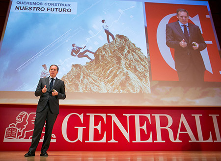 Más de 1.200 agentes y 400 comerciales participaron en las Convenciones Anuales de Agentes 20015 de GENERALI