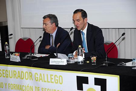 Más de cien profesionales participan en el IV Encuentro Asegurador Gallego