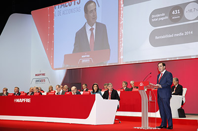 Mapfre: Los ingresos procedentes de fuera de España representarán un 75% en 2020