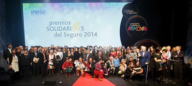 Crónica sobre los Premios Solidarios del Seguro