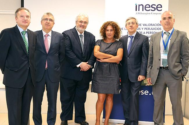 Manuel Mascaraque, Josep Pérez, Miquel Martín, Juana Romero, José Ignacio Funes y José Antonio Badillo