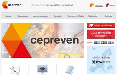 Nueva web de CEPREVEN